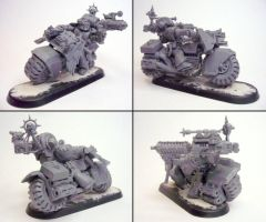 Master of the Forge on Bike WIP by Grombald
