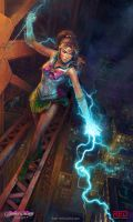 Sailor Jupiter by RedreevGeorge
