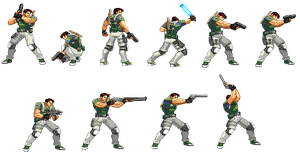 Chris Redfield remastered by Riklaionel