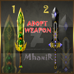 [CLOSED] Design Adopt Weapon - 26 by MhaxiR