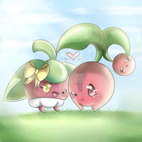 Bounsweet and Cherubi~