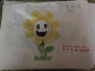 Flowey by The-Emeralds