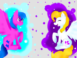 Surprise and Firefly by LeaSmile