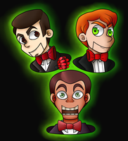 The Three Slappys by LaughterLover