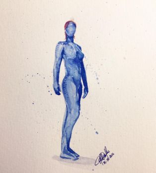 Mystique by lefemmeartiste