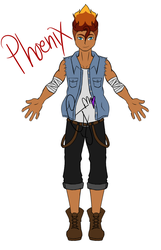 Phoenix main outfit by AlphonseElricsWife