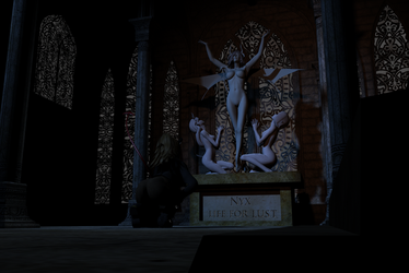 Temple of Nyx by AnubicDarque