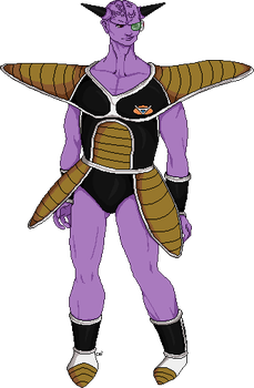 Captain Ginyu by teardrop246