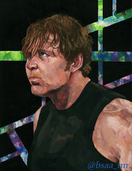 Dean Ambrose Painting by Tamayo423