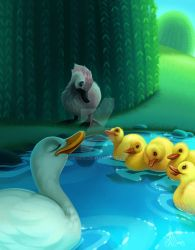 Ugly Duckling by Edriss