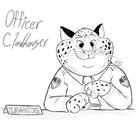 .:Zootopia:. Officer Clawhauser by MikaMilaCat