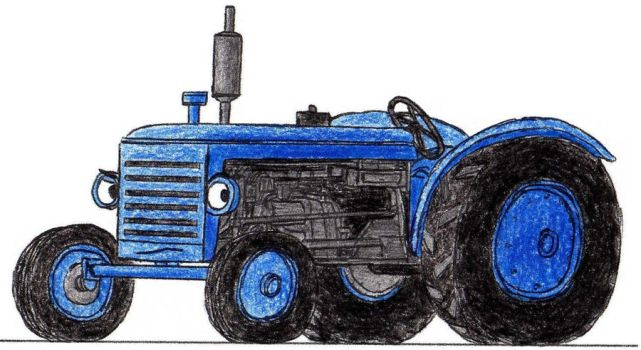 Shane the Tractor by 01Salty