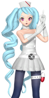 MMD Dreamy Theater Extend : Space Nurse by willianbrasil