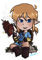 link by Breath of the Wild - 2 by sheinarton