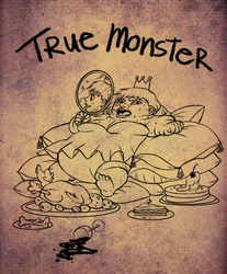 true monster - day 11 by mosuga