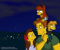Simpsons: Biological Father Sean by The-StarDog