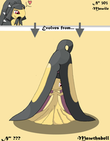 Mawthsbell, Preevo of Mawile :3 by burikillo