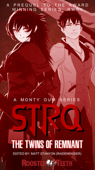 RWBY - Qrow And Raven Team STRQ Fan Poster by RaidenRaider