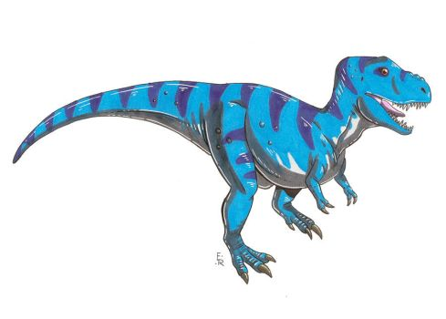Blue Rex by Erikku8