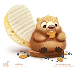 Daily Paint 1759# Briever by Cryptid-Creations