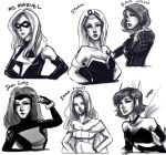 Quick Sketch: Favourite Marvel Women by ZLynn