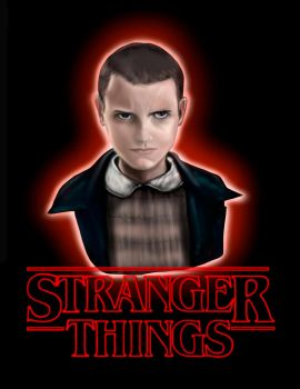 Eleven Stranger Things by KevinG-art
