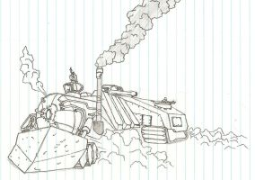 Steam Tank by CDSZombieslaughter