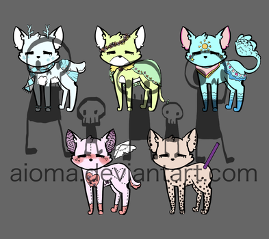 FREE ADOPTS - CLOSED by Aioma