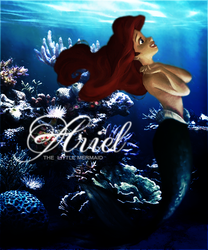 Ariel, the little mermaid by FlaviaKristine