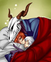 Sleep [F:The Ancient Magus Bride] by Anorha-Nono