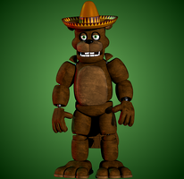 [RANDOMISED FNAF CHARACTER] FNaF 1 El Chip by yoshipower879