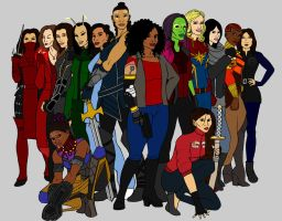 MCU Fearless Defenders by tapwater86