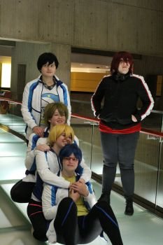 [Free!]: For the Team by Karrissarella