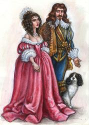 Queen Mariana and Prince-Consort Carolus by suburbanbeatnik