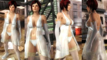 Mila white mantle lace by funnybunny666