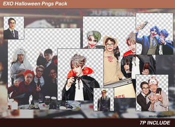 [SHARE PNGs] Party #Halloween Pngs Pack @EXO by SuzyKimJaeXi