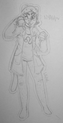 old nepeta sketch by LilaxSong