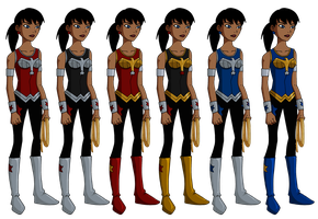 Young Justice Donna Troy by Glee-chan