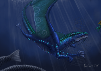 Diver the Seawing by Kalia24