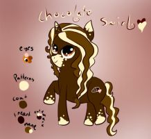 F.I.M. Pony OC: Chocolate Swirl by AmiKiraCat