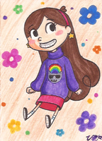 Art Card 16 - Mabel by VickyViolet
