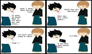 Funny Death Note Comic 11 by EmoAliKat