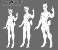 F2U Dainty base pack by artofdroth