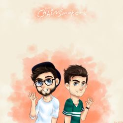 The Chainsmokers by DeathByZedd