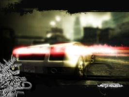 NFS: Most Wanted Wallpaper by AndroniX