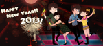 Happy New Year 2013 by aidmoon