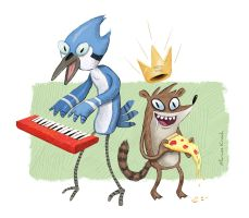 The Power of Pizza King by Krockman