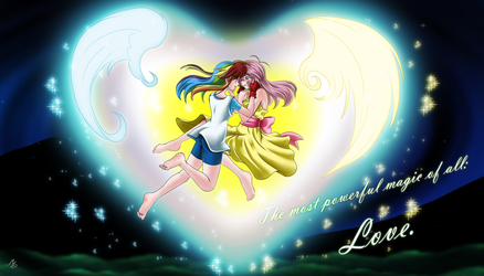 The most powerful magic of all: love by mauroz