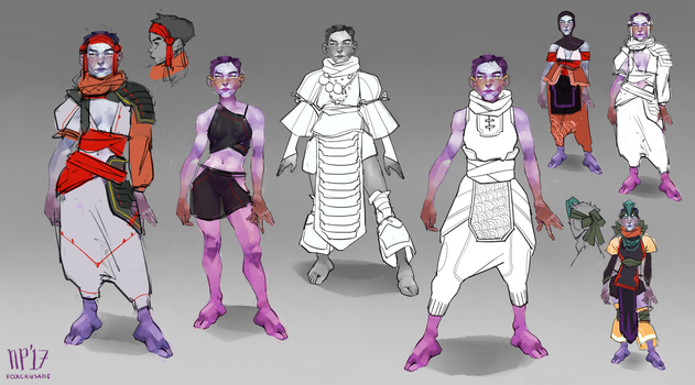 Wren outfits by foxcrusade