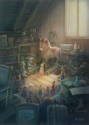 Toys in the Attic by WylfiArt